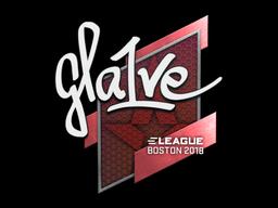 Sticker | gla1ve | Boston 2018