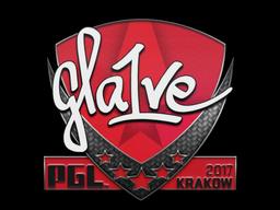 Sticker | gla1ve | Krakow 2017