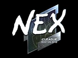 Sticker | nex (Foil) | Boston 2018