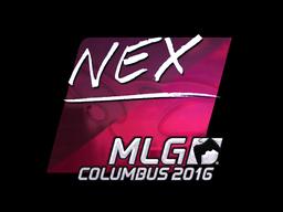 Sticker   nex (Foil)   MLG Columbus 2016