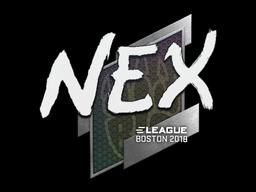Sticker | nex | Boston 2018
