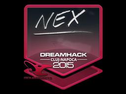 Sticker | nex | Cluj-Napoca 2015