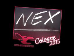 Sticker | nex | Cologne 2015