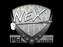 Sticker | nex | Krakow 2017