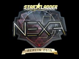 Sticker | nexa (Gold) | Berlin 2019