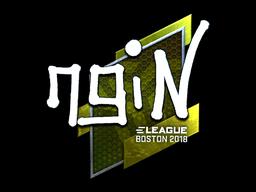 Sticker | ngiN (Foil) | Boston 2018