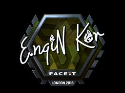 Sticker | ngiN (Foil) | London 2018