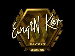 Sticker | ngiN (Gold) | London 2018