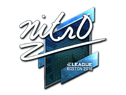 Sticker | nitr0 (Foil) | Boston 2018