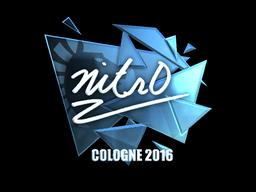 Sticker | nitr0 (Foil) | Cologne 2016