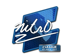 Sticker   nitr0   Atlanta 2017