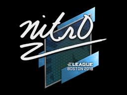 Sticker | nitr0 | Boston 2018