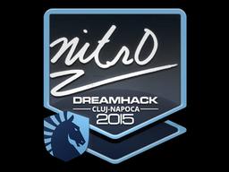 Sticker   nitr0   Cluj-Napoca 2015