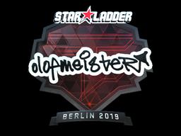 Sticker | olofmeister (Foil) | Berlin 2019