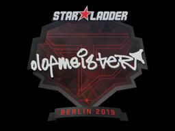 Sticker | olofmeister | Berlin 2019