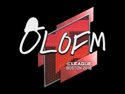 Sticker | olofmeister | Boston 2018