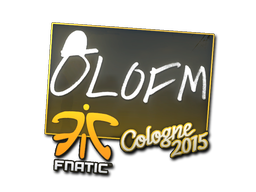 Sticker   olofmeister   Cologne 2015