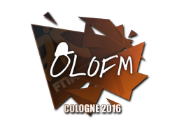 Sticker | olofmeister | Cologne 2016