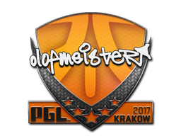 Sticker | olofmeister | Krakow 2017