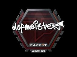 Sticker | olofmeister | London 2018