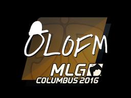 Sticker | olofmeister | MLG Columbus 2016