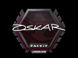 Sticker | oskar | London 2018