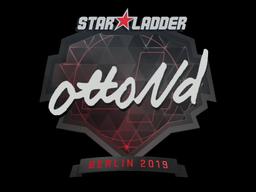 Sticker | ottoNd | Berlin 2019