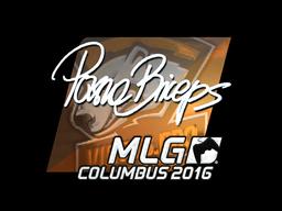 Sticker   pashaBiceps (Foil)   MLG Columbus 2016