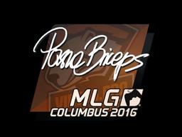 Sticker   pashaBiceps   MLG Columbus 2016