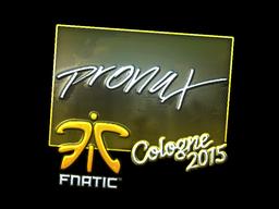 Sticker | pronax (Foil) | Cologne 2015