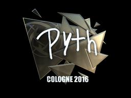 Sticker | pyth (Foil) | Cologne 2016
