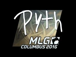 Sticker | pyth (Foil) | MLG Columbus 2016