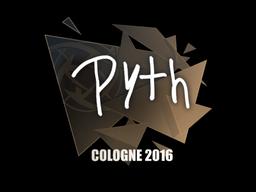 Sticker | pyth | Cologne 2016