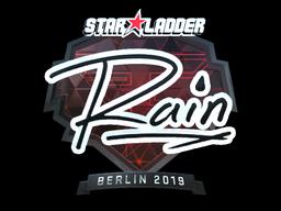 Sticker | rain (Foil) | Berlin 2019