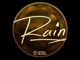 Sticker | rain (Gold) | Katowice 2019
