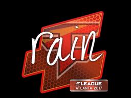 Sticker   rain   Atlanta 2017