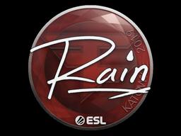 Sticker | rain | Katowice 2019