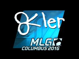 Sticker | reltuC (Foil) | MLG Columbus 2016