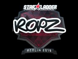 Sticker | ropz (Foil) | Berlin 2019