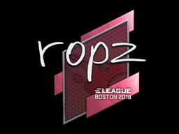 Sticker   ropz   Boston 2018