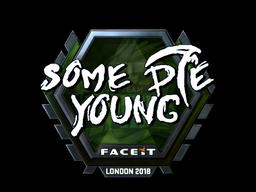 Sticker | sdy (Foil) | London 2018