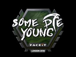 Sticker | sdy | London 2018