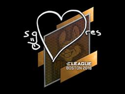 Sticker | seang@res | Boston 2018