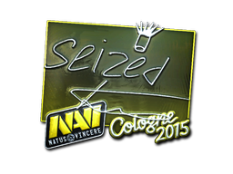 Sticker | seized (Foil) | Cologne 2015