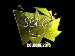 Sticker   seized (Foil)   Cologne 2016