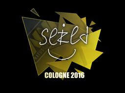 Sticker   seized   Cologne 2016