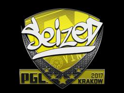 Sticker | seized | Krakow 2017