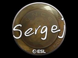 Sticker   sergej   Katowice 2019