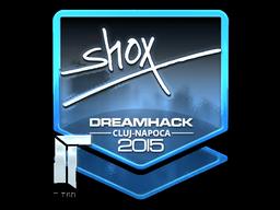 Sticker | shox (Foil) | Cluj-Napoca 2015