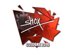 Sticker | shox (Foil) | Cologne 2016